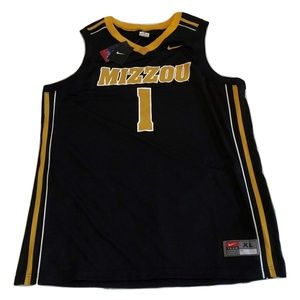 #1 Missouri Tigers Nike Basketball Jersey